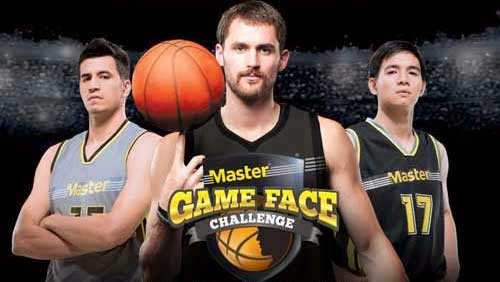 Kevin Love Master Game Face Challenge