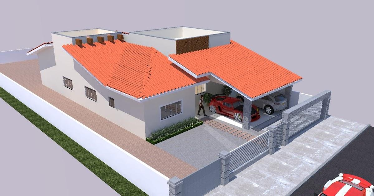 Alex douglas desenhista arquitet nico casa telha de barro for Fotos de casas modernas com telhado aparente