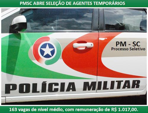 Apostila Concurso PMSC 2016 Agente Temporário de Serviço Administrativo da Polícia Militar-SC - Auxiliar Temporário PM-SC