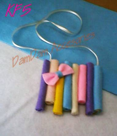 damdam collection kalung flanel lucu