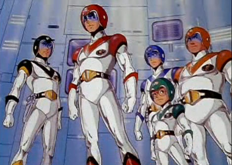 Classic Voltron Human Pilots Lion Force Voltron (Voltron of the Far Universe)