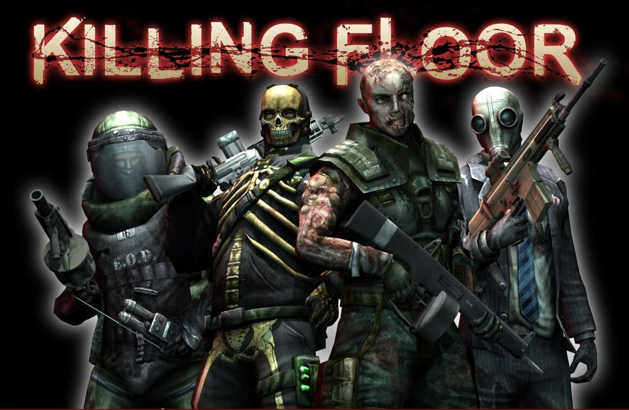 Game overies killing floor for 1 2 3 4 all the ladies on the floor