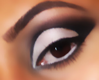 mac, cut, crease, eyeshadow, look, blog, tutorials, carbon, gesso, fascinating, dazzling, 60, 60s 5