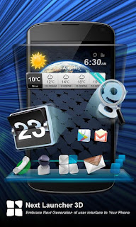 Next Launcher 3D 1.52  Apk Download
