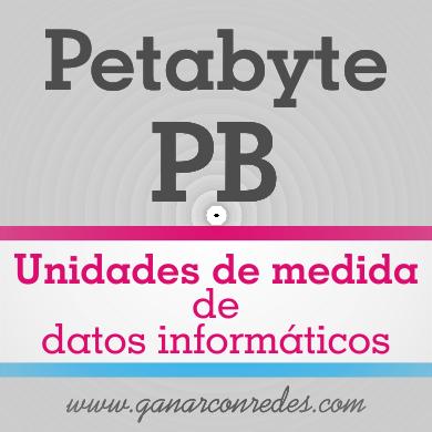 Petabyte (PB) | Unidades de medida de datos informáticos