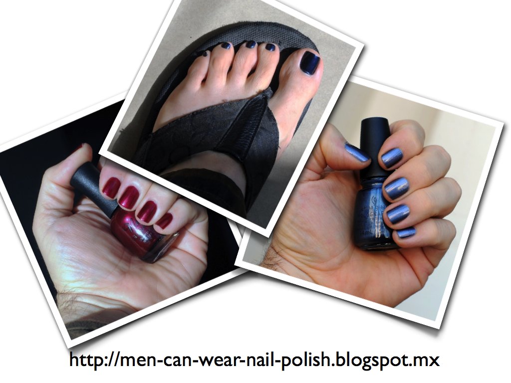 Men can wear nail polish: What is the identity of a man who wears ...