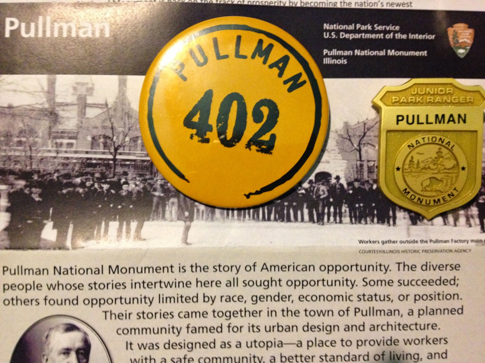 Pullman National Park and Monument Collectibles