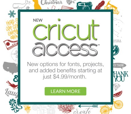 New Cricut Access