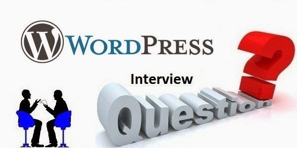 WordPress Interview QA