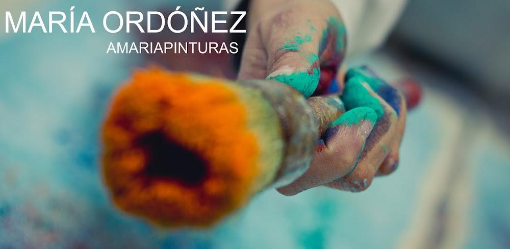 Amariapinturas, Obra pictórica de María Ordóñez