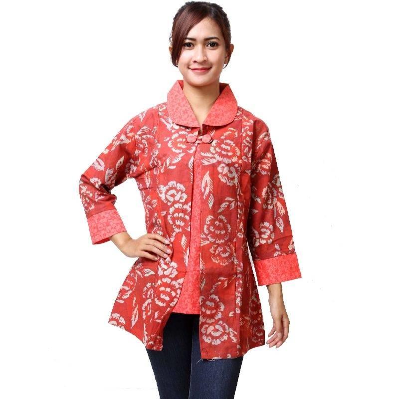7 Baju Batik Wanita Remaja Terbaru Modis 1000 Model