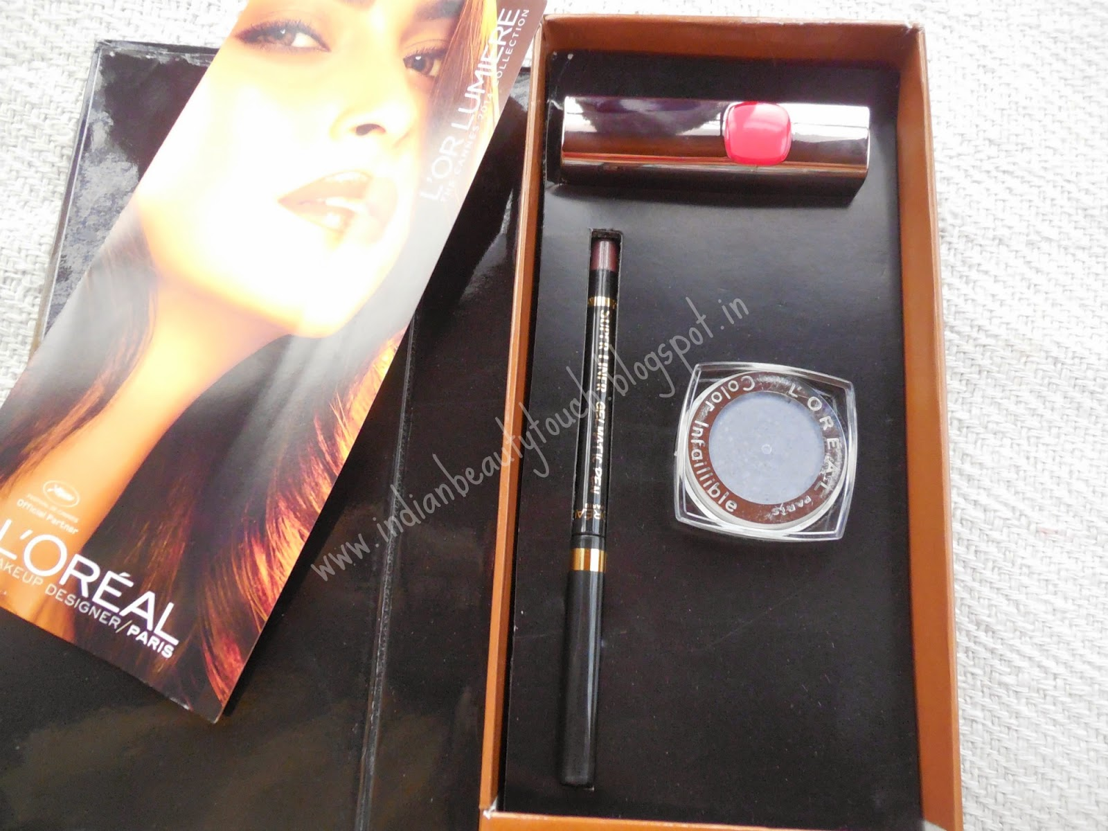 "alt=""L'Oreal Paris Cannes Collection Box Review """