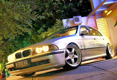 Modified BMW 528i E39
