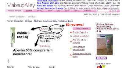 Portal de reviews sobre produtos de beleza