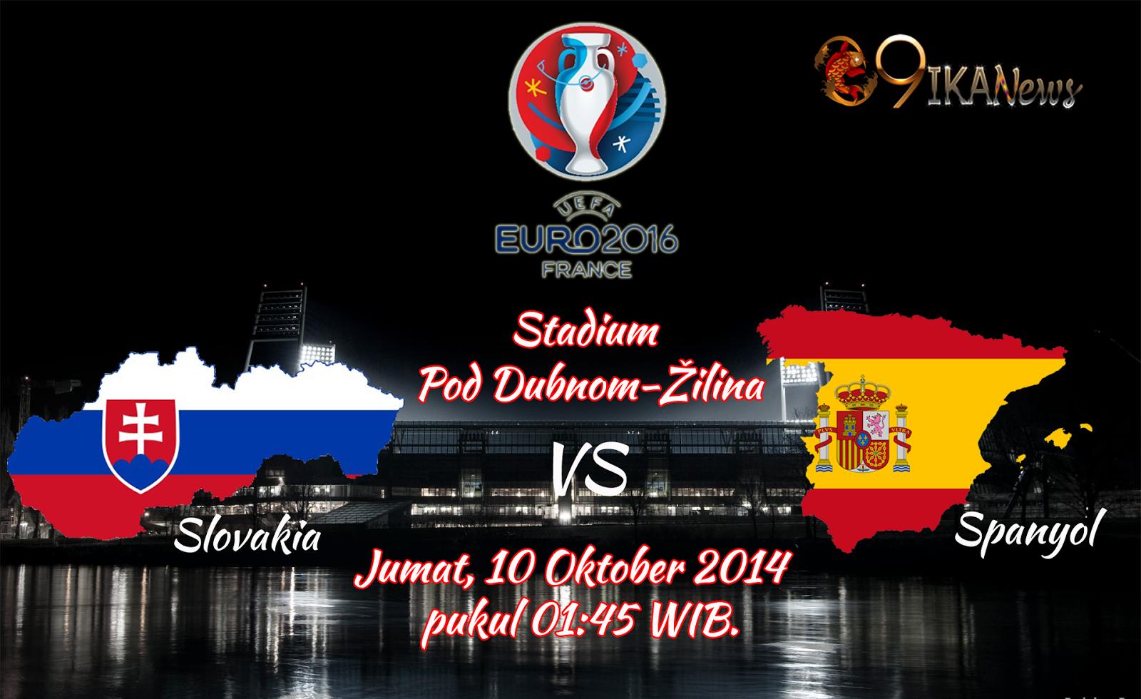 Prediksi Skor Bola Slovakia Vs Spanyol 10 Oktober 2014