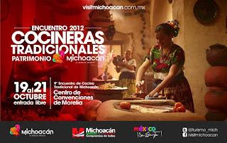 Encuentro de Cocina Tradicional de Michoacán