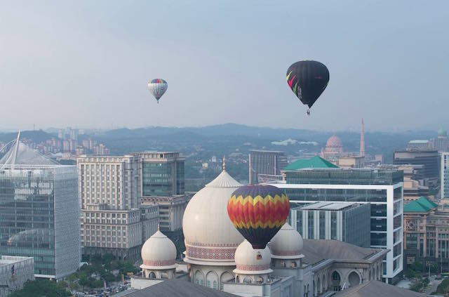 Putrajaya International Hot Air Balloon Fiesta 2016