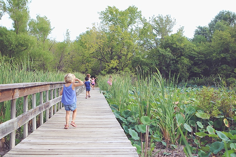Oxley Nature Center Mohawk Park kids hike in Tulsa