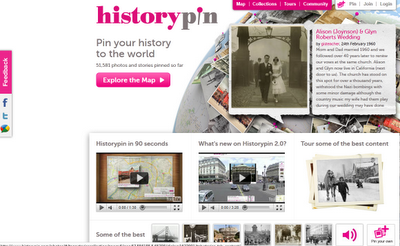 Historypin Worldwide Launched