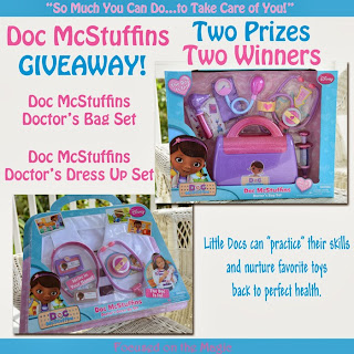 Doc McStuffins Giveaway! Two Prizes ~ Two Winners