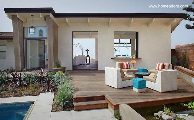 Casa residencial de estilo contemporánea reformada en California, Estados Unidos
