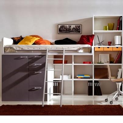 Muebles de dise o moderno y decoracion de interiores - Dormitorios pequenos juveniles ...