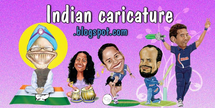 indian caricature