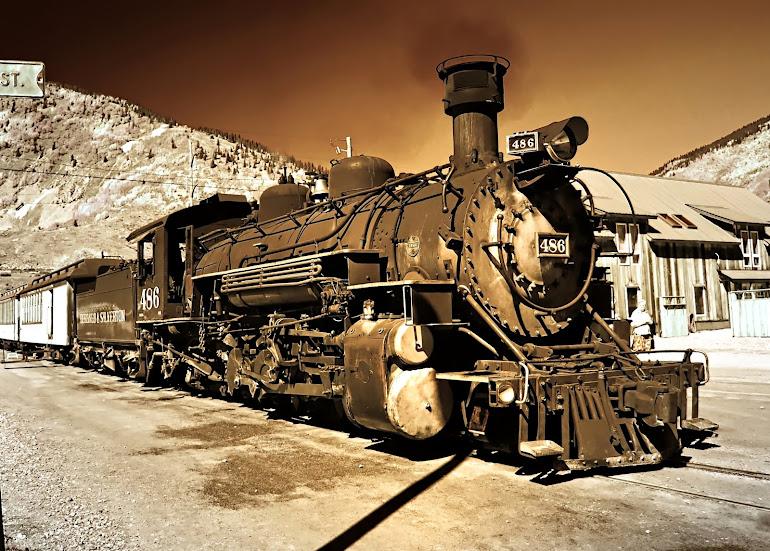 Durango-Silverton Railroad No.486