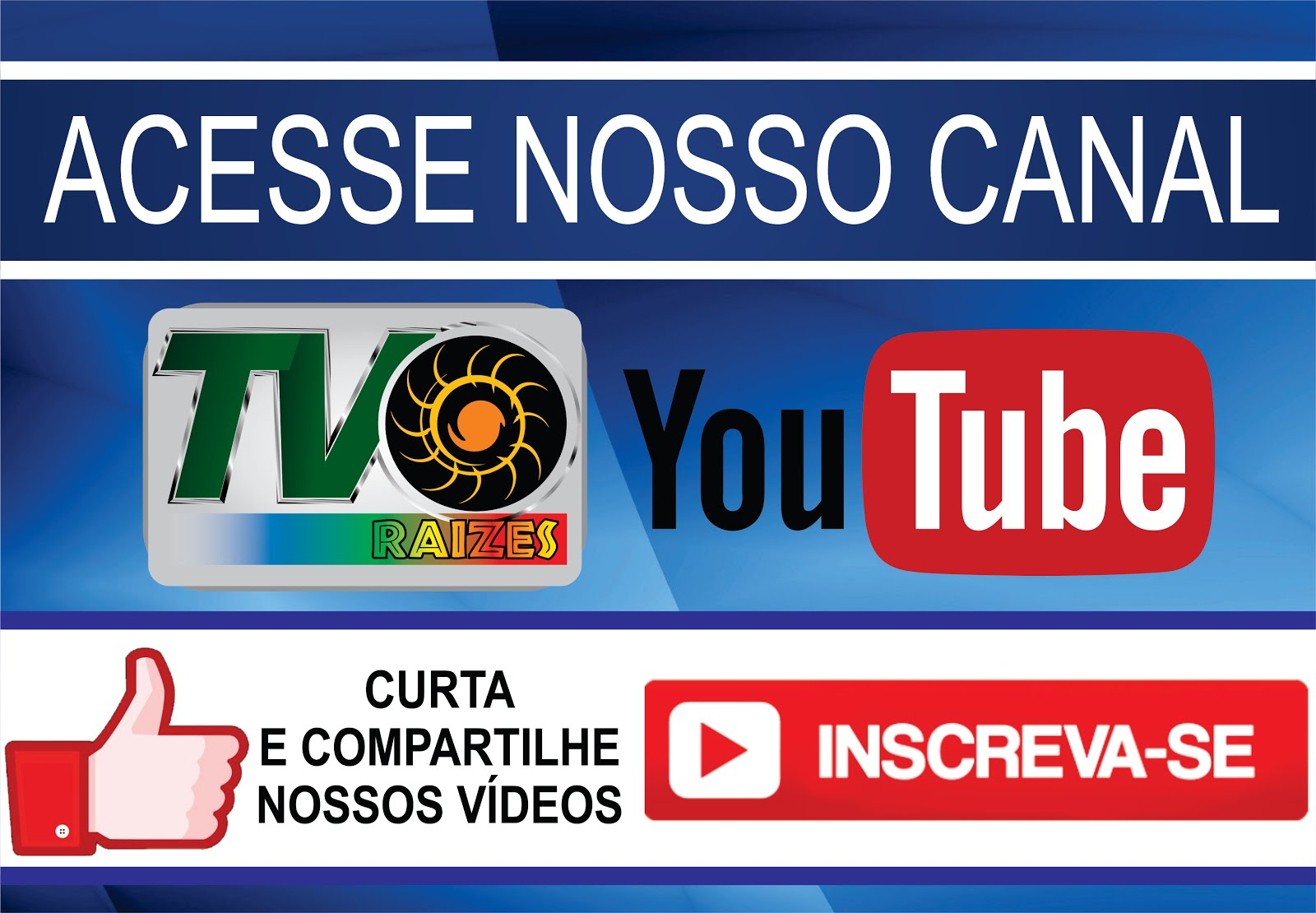 CANAL DA TV RAÍZES NO YOUTUBE