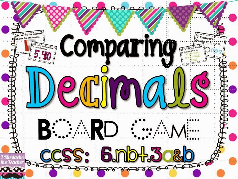http://www.teacherspayteachers.com/Product/Reading-Writing-and-Comparing-Decimals-Board-Game-1099106