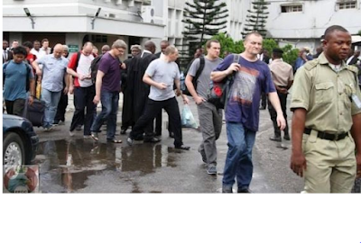 14 foreigners arrested for oil bunkering in Nigeria [photos]