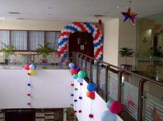 dekorasi balon Q