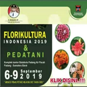 Florikultura Indonesia 2019 dan Pedatani