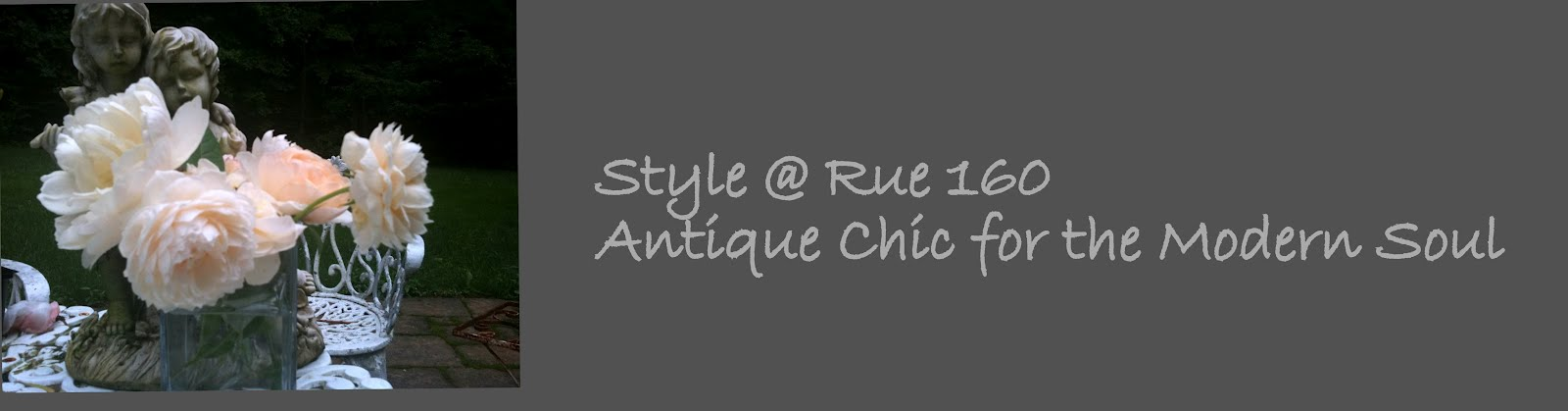 Style at Rue160, Antique Chic for the Modern Soul