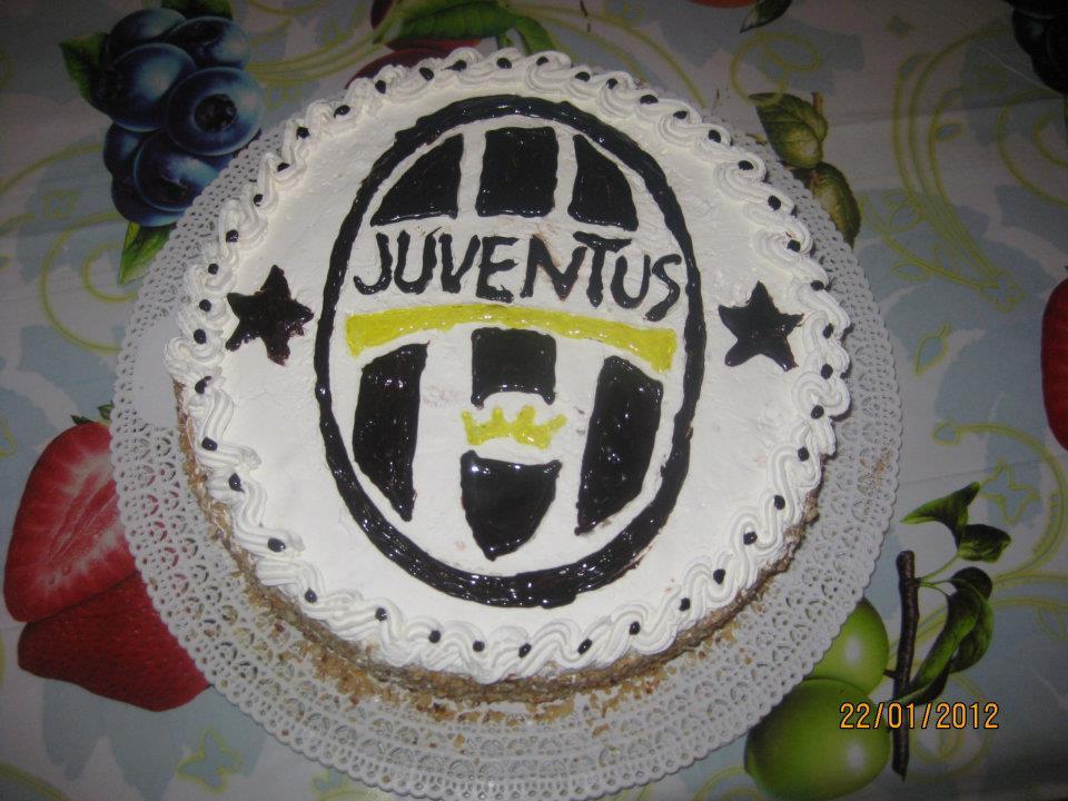 tra carta e colori....: e' tempo di torte... - Decorazioni Torte Juventus