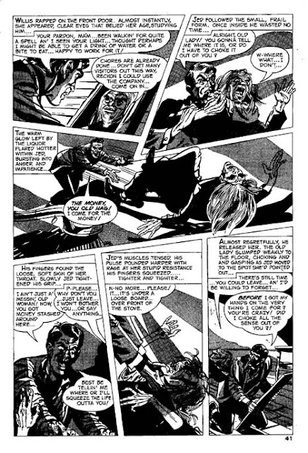 Creepy 16 page by Bill Molno and Sal Trapani