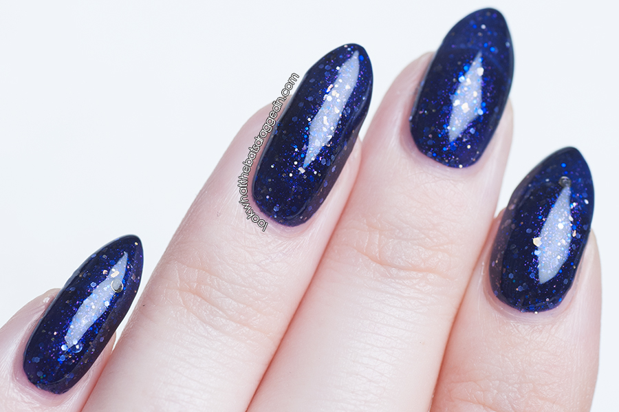 Moonstone Nail Polish swatch Enchanted Ceiling