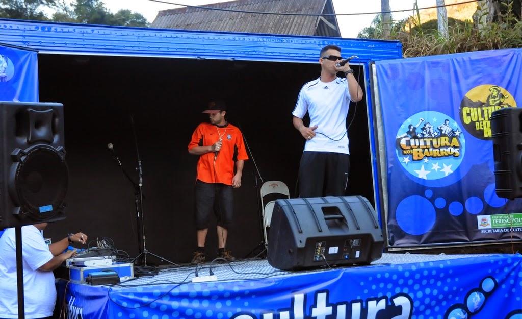 O evento teve a participação especial do grupo de rap ADL MC's