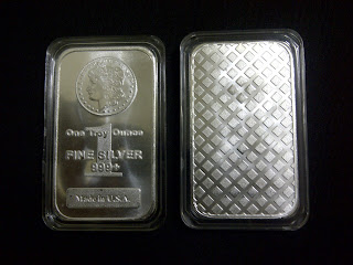 1oz Morgan silver bar - RM 119 ( 33 pcs left )