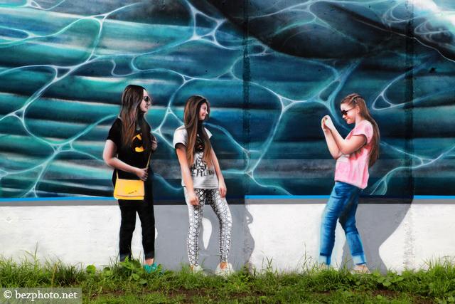 граффити в одинцово фото