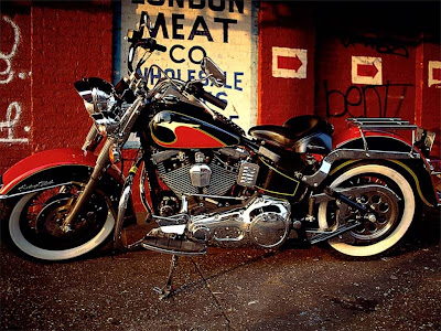 Harley Davidson heritage softail motorcycles wallpapers