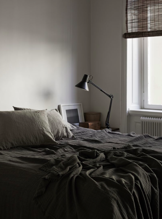 Dark bedrooms inspiration | Lotta Agaton