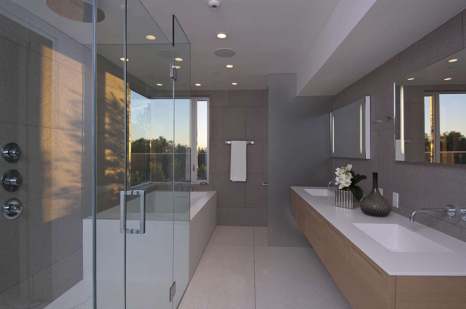 Hollywood hills master bathroom design project the design - Picture Of Modern Bathroom Modern Home Bathroom In Hollywood Hills
