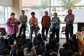 """Exquisite Corpse"" Contributors Meet with Students at DC Public Library"