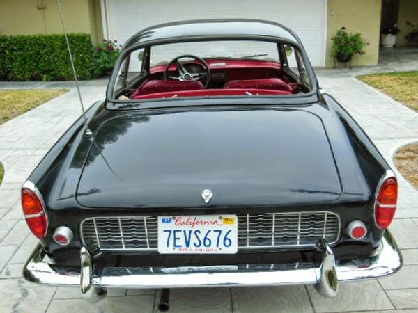 1959 Renault Caravelle Coupe Auto Restorationice