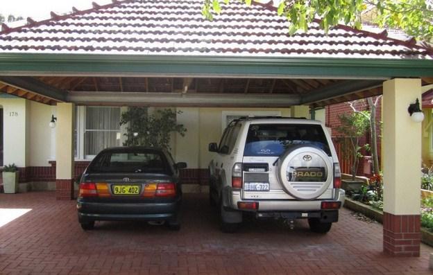 45 model garasi mobil minimalis modern dan unik