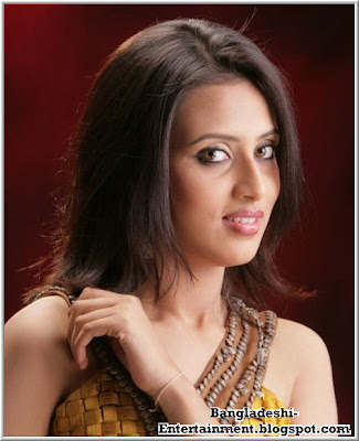 Bangladeshi actress Mim