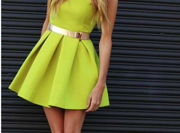 Casper's Fashion World: Summer Fluorescent Dresses 2013