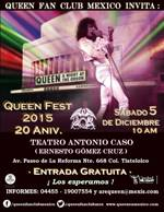 QUEEN FEST MEXICO 5 DIC 2015