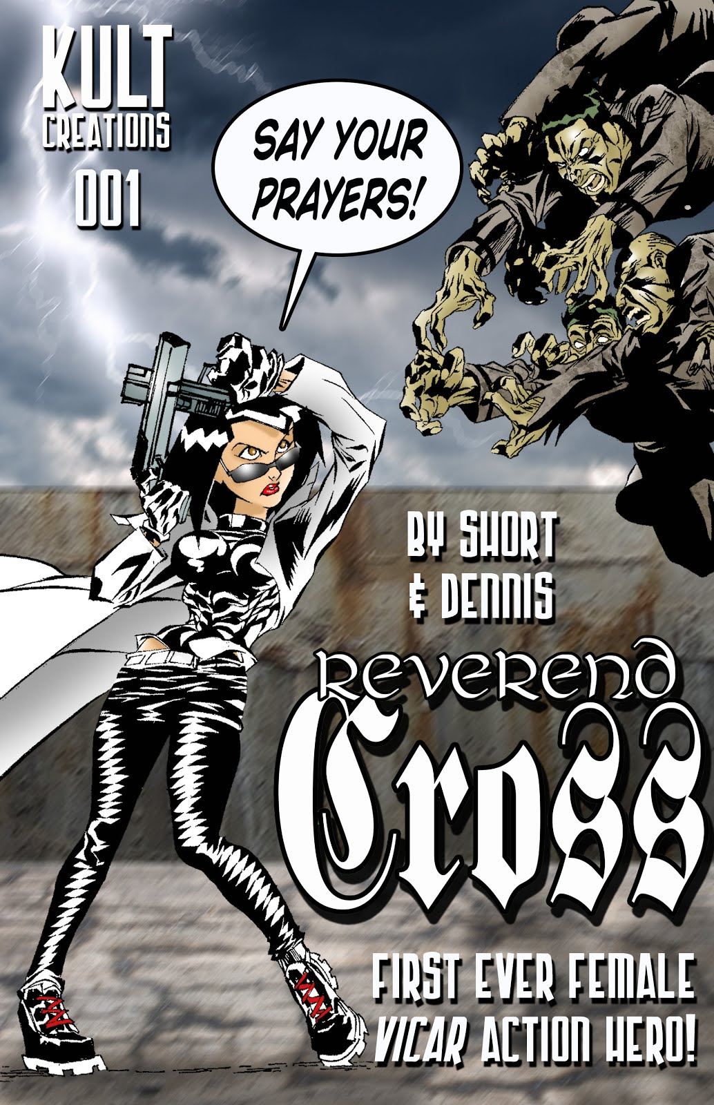 Link to buy REVEREND CROSS 001 - kindle